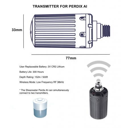 Shearwater Perdix AI Transmitter