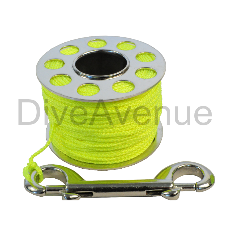 Stainless steel finger reel 45 meter with SS hook