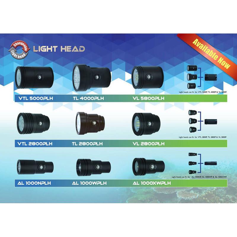 Bigblue Light head VL9000P 120° beam