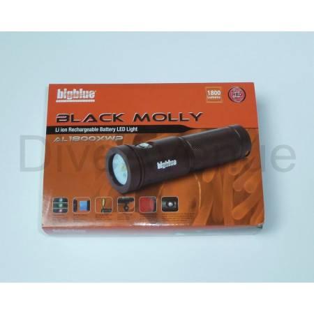 Phare BIGBLUE AL1800XWP BLACK MOLLY II Tri Color