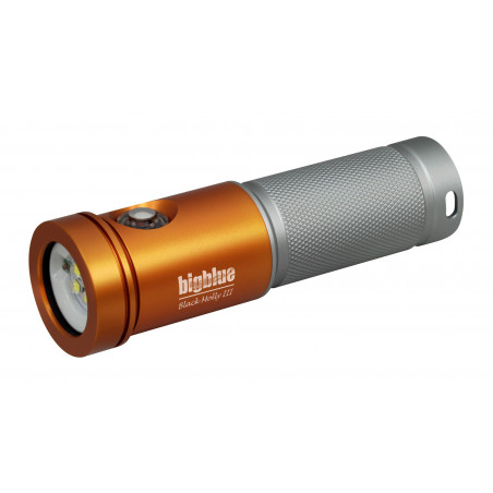 Phare BIGBLUE AL2600XWP BLACK MOLLY III Orange