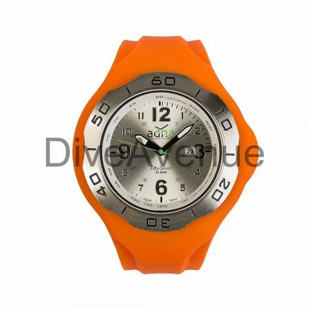 ORANGE silicon band A.D.N.A watch