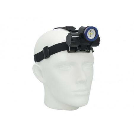 Lampe frontale étanche rechargeable Bigblue HL1000XW