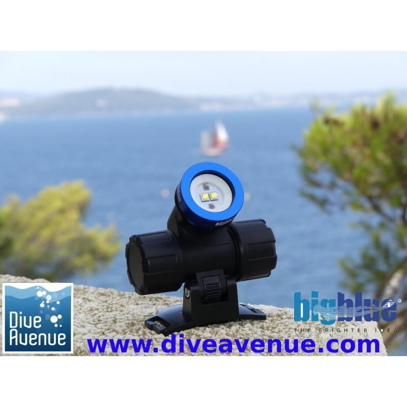 Dive light headlamp Bigblue HL1000XW
