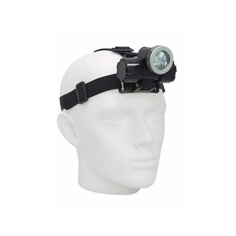 Lampe frontale étanche rechargeable Bigblue HL1000N
