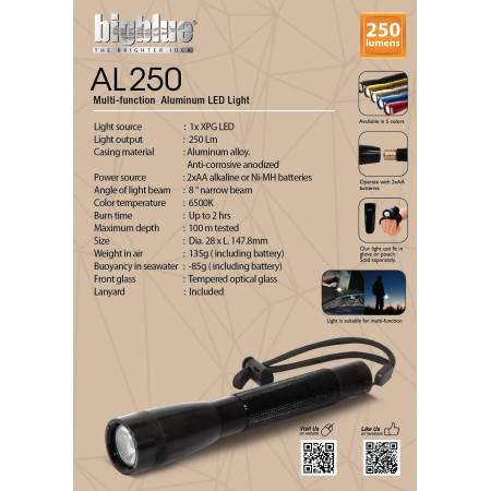 Lampe LED multifonction étanche Bigblue AL250