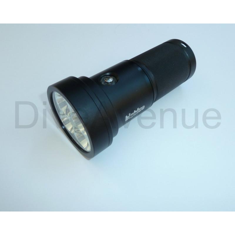Bigblue TL4800P Tech Led light- 4xLED 4800Lm 10°beam