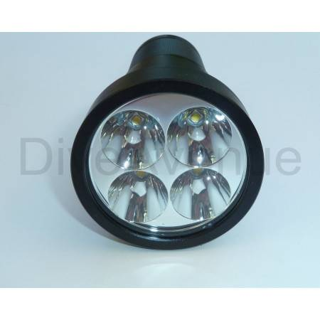 Phare BIGBLUE TL4800P - 4x LED 4800Lm 10°