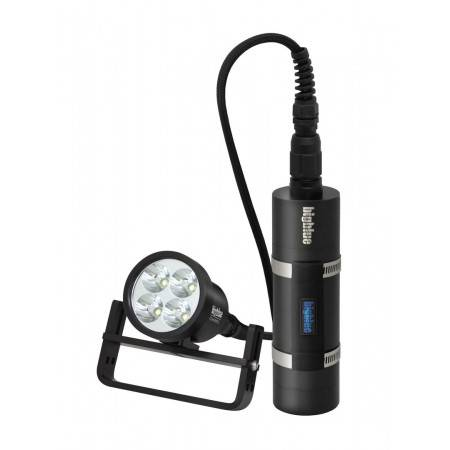 Led tek light with canister Bigblue TL4500P Slim