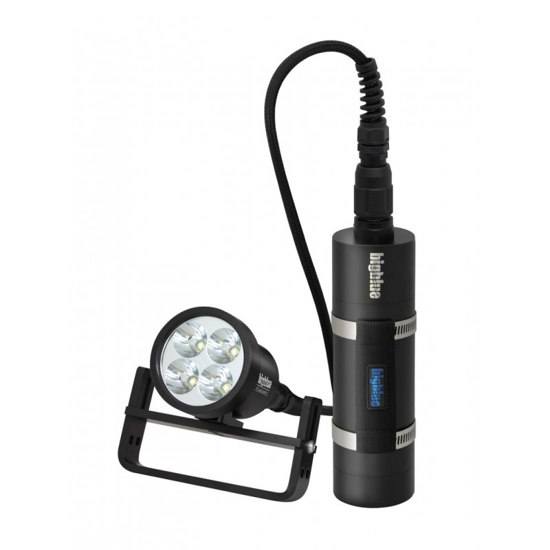 Led tek light with canister Bigblue TL4500P Slim