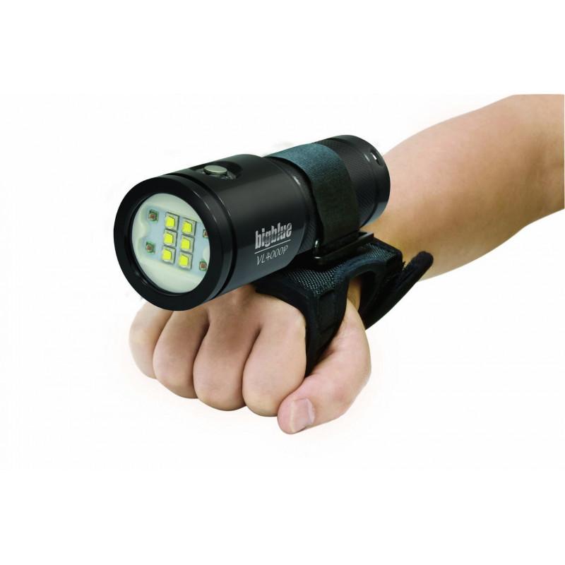 Phare video Bigblue VL4000P black 4000Lm à 120°