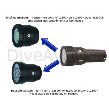 Phare BIGBLUE VTL3500P - Video 10° et 120°