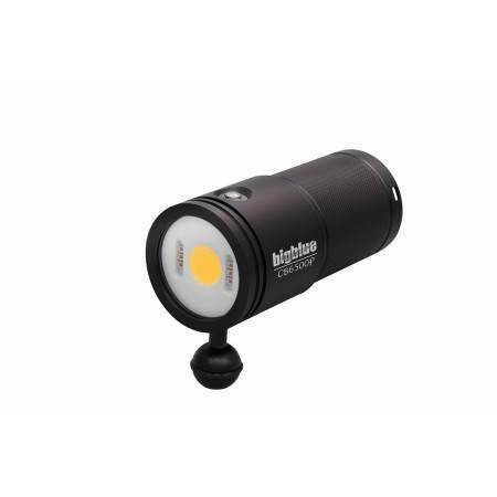 Phare vidéo Bigblue CB6500P - Monoled à 120°