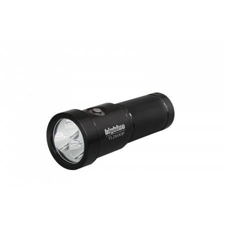 Phare BIGBLUE TL2600P BLACK - 3 x LED 2600Lm 10°