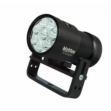 Phare BIGBLUE TL8000P - 8x LED 8000Lm 10°