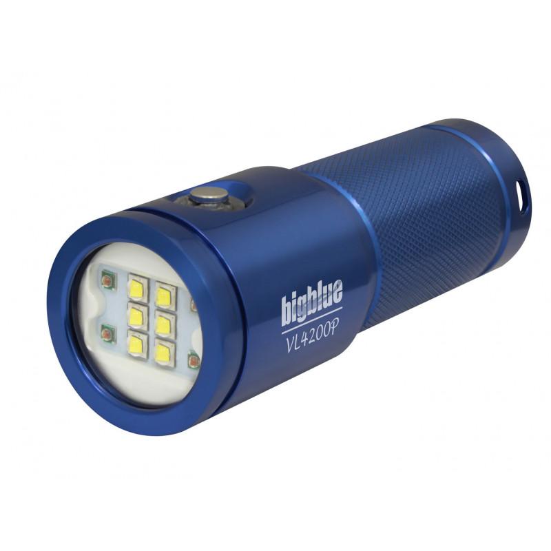 Phare video Bigblue VL4200P blue- 4200Lm à 120°