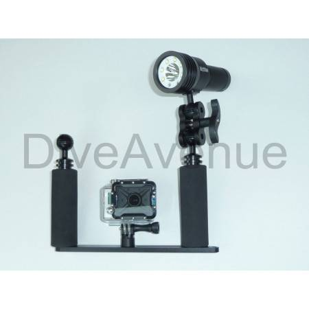 Platine video GoPro® pour phares BIGBLUE 2600/3100/5500 Lm