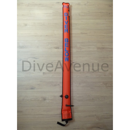 Alert tube 1.82m long with inflator and valve x12