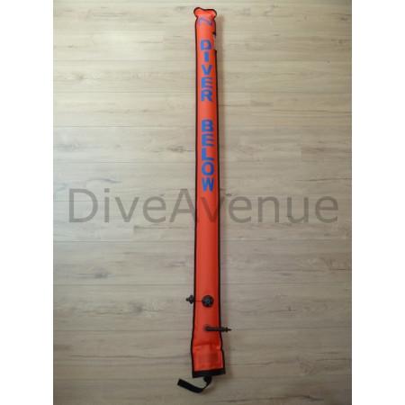 Parachute de palier 1.82m avec inflateur + valve x12