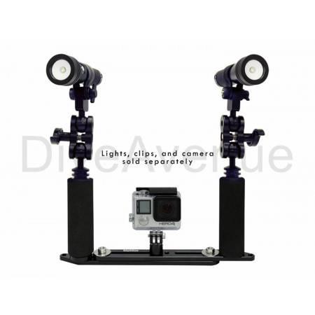 Bigblue adjustable underwater camera tray