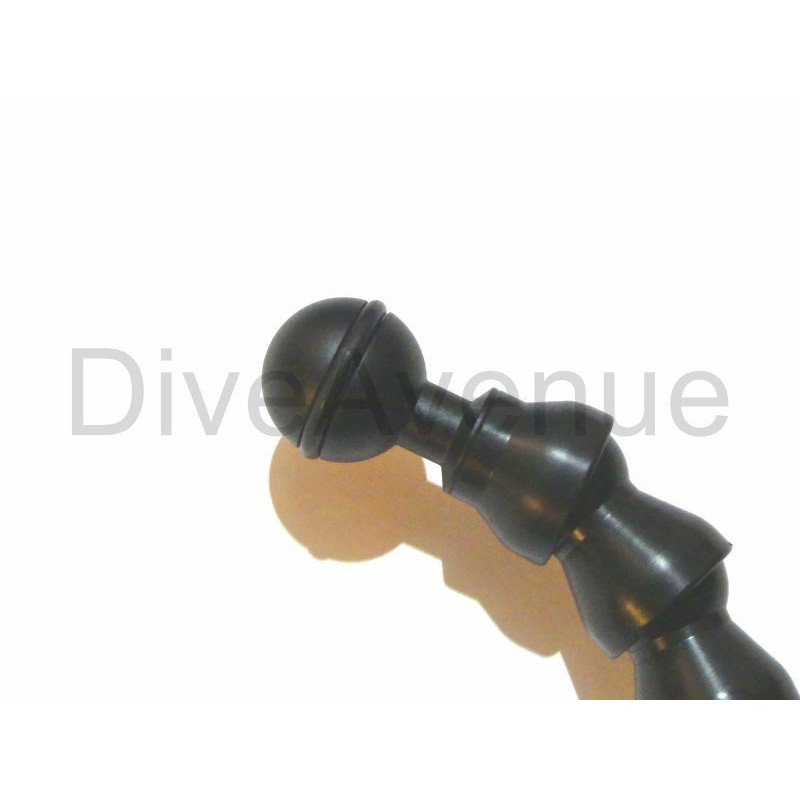 Platine GoPro bras flexibles Bigblue FLEXIGPTRAY