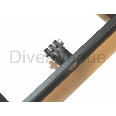 Adjustable GoPro tray w/ 7in flex arms Bigblue