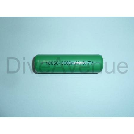 Batterie rechargeable Lithium-ion Bigblue 18650 3Ah