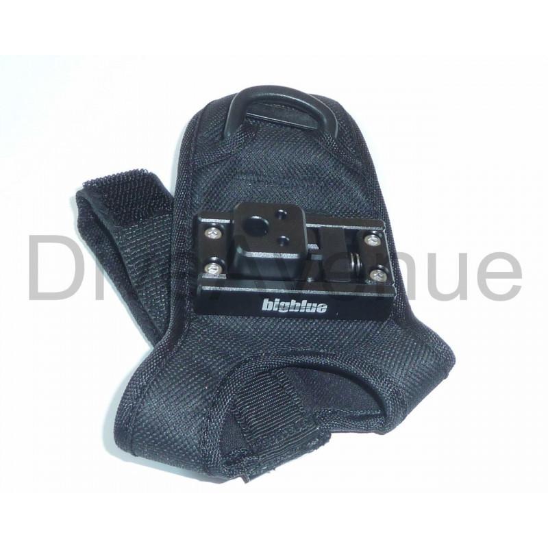 Easy release glove for Bigblue VL/VTL/TL lights