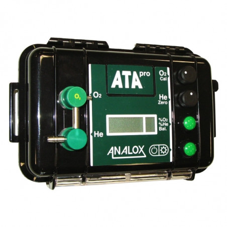 Analyseur Trimix ANALOX ATA à pile