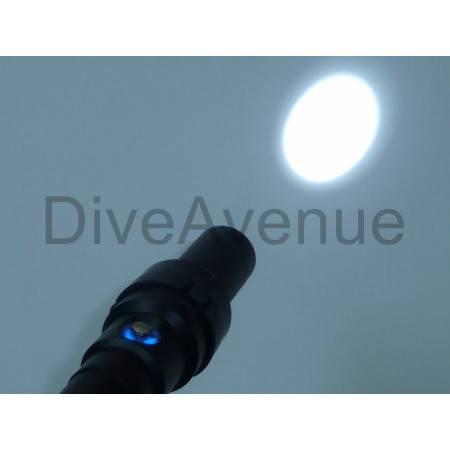 Snoot macro photo pour phares série AL Bigblue