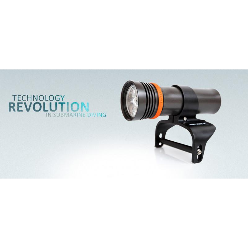 Dive light FINNSUB FINN LIGHT S3600 SHORT