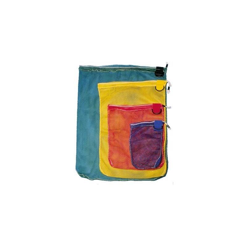 Scuba drawstring mesh bag