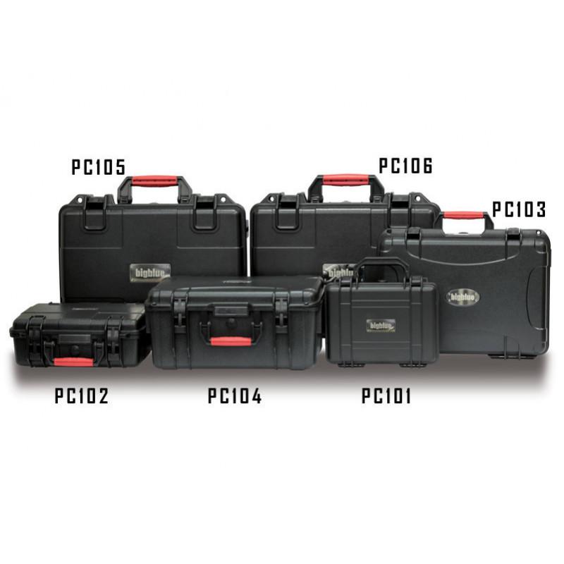 Protective case wheels Bigblue PC107 546x400x200