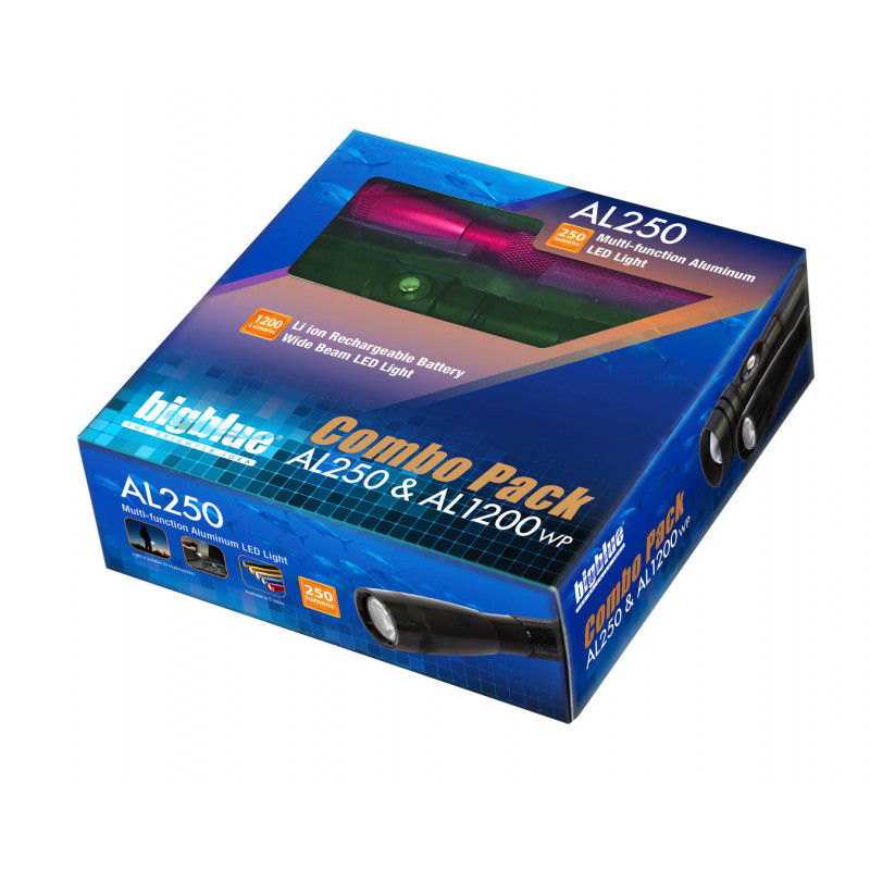 Combo pack Bigblue AL1200WP + Bigblue AL250