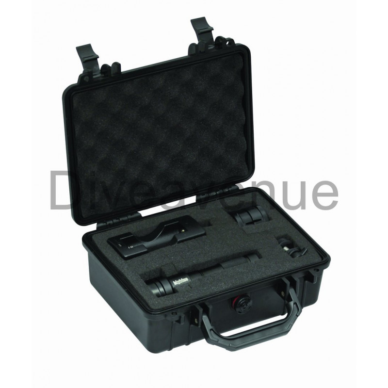 Pack case Bigblue PC101 + Light Bigblue AL1200NP