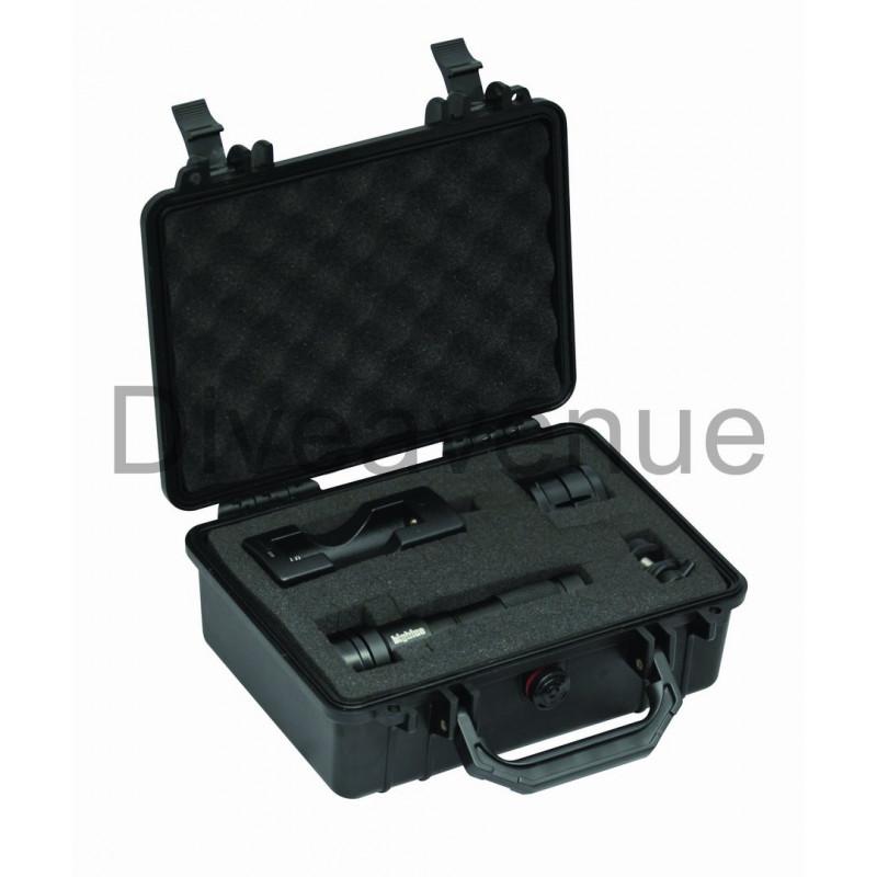 Pack valise Bigblue PC101 + Phare Bigblue AL1200NP