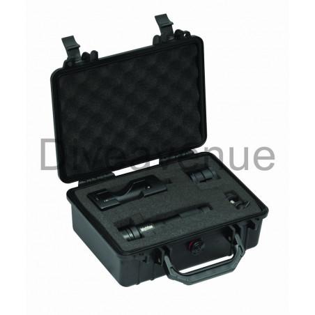 Pack valise Bigblue PC101 + Phare Bigblue AL1200XWP