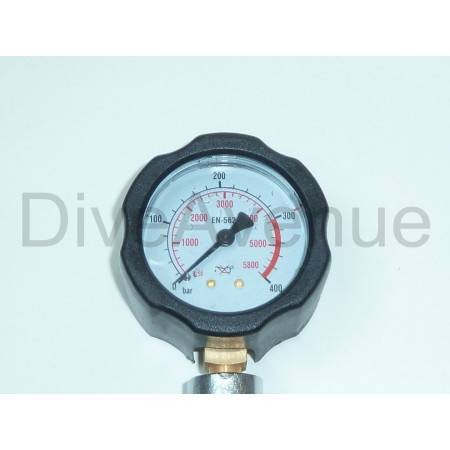 DIN Nitrox surface pressure checker 0-400bar