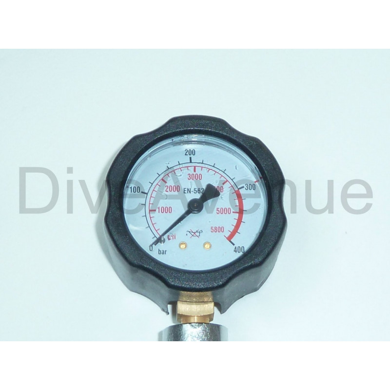 DIN Nitrox surface pressure checker 0-400bar