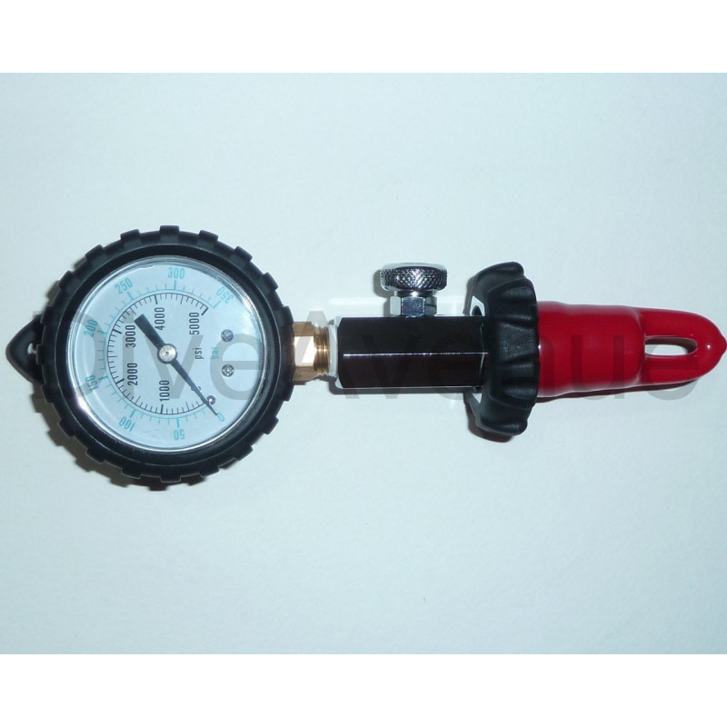 AIR DIN surface pressure checker 0-350bar