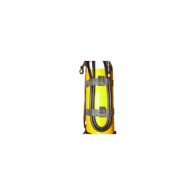 Hose retaining rubber loop set