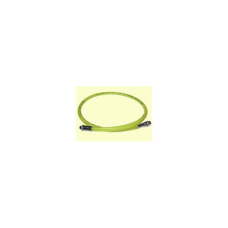 Rubber regulator hose 100cm yellow TECLINE