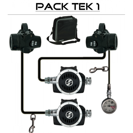 "TEK 1 DIR R5 Tec"" regulator pack - TECLINE"