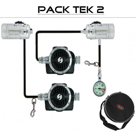 "TEK 2 DIR R2 ICE"" regulator pack - TECLINE"