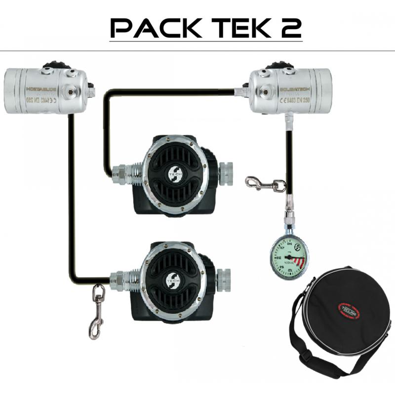 "Pack détendeur ""TEK 2 DIR R2 ICE"" - TECLINE"