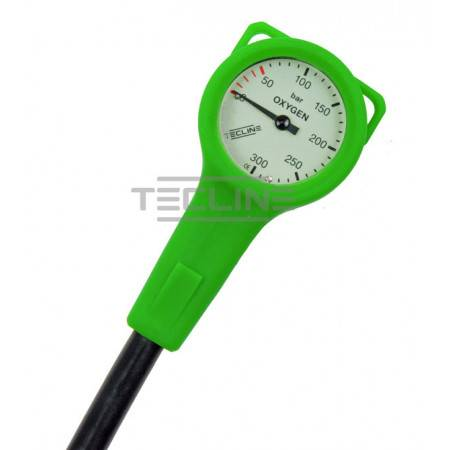 O2 Manometer 52mm 15cm hose...