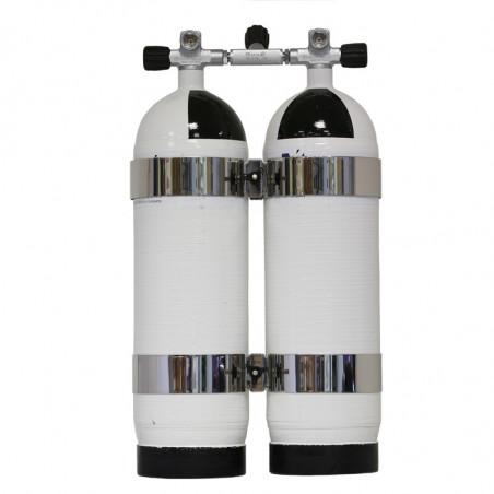 Bi-Bloc carbone Carbonedive 2x12 litres 300Bar