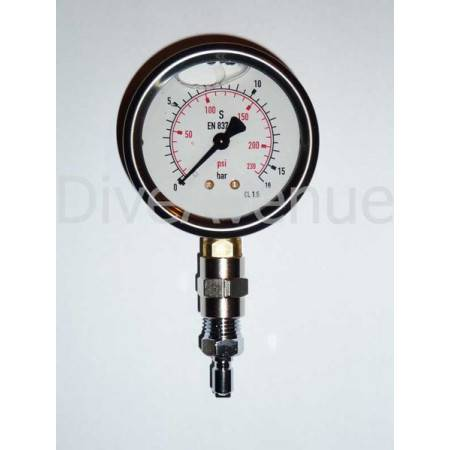 Manomètre moyenne pression PRO