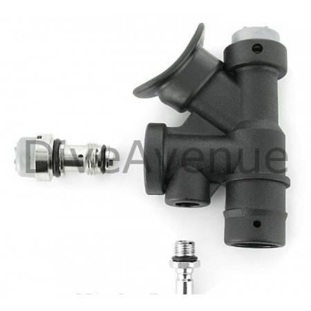 BC inflator and tank valve tool