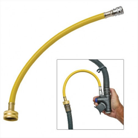 FLush hose for BC or surface marker